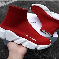 Balenciaga Woman Men Boots Fashion Breathable Sneakers Running Shoes-3