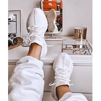Adidas Yeezy Boost 350 V2 Pure White Sports Shoes