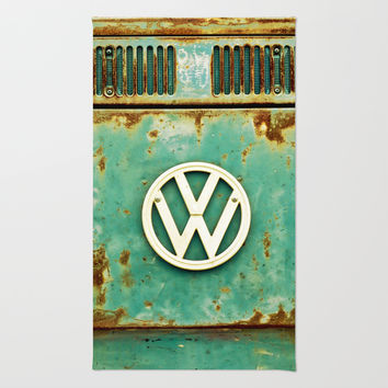 VW Retro Rug by Alice Gosling