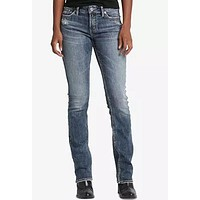 Silver Jeans Co. Stretch Slim Jeans.
