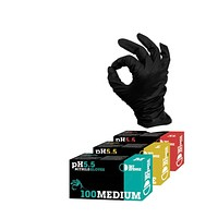 Dirt Defense Nitrile Gloves PH Safe (Medium)