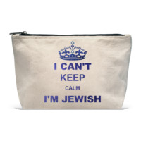 Pouch- Can't Keep Calm Jewish