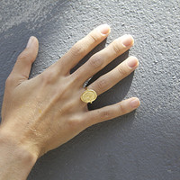 MALE SILHOUETTE RING
