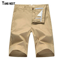 TANGNEST Men Shorts Clearance Sale Summer Style Knee Length Shorts Straight Casual Outwear Mid-waist Shorts Leisure M-XXL