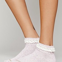 Free People Womens Short Heathered Highland Boot Sock