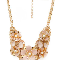 Fawning for Floral Cluster Necklace