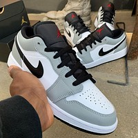 Air Jordan 1 Low Men's and Women's All-match Sports Shoes