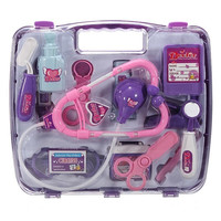 Kids Children Pretended Doctor's Nurse Medical Play Set Carry Case Kit Roll Play Toy Gift = 1946693508