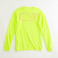 Neon Vintage Whale Graphic T-Shirt