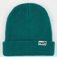 Neff Fold Beanie Teal Green One Size For Men 16452351201