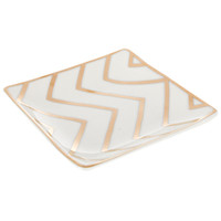 Gold Chevron Ceramic Jewelry Holder | Hobby Lobby | 1148824