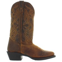 Laredo Maddie - Brown Distressed Leather Cowboy Boot
