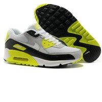 NIKE Fashion Man Running Sport Casual Shoes Sneakers Fluorescent green