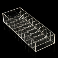 Clear Acrylic Makeup Drawers Holder Cosmetic Organizer Case Jewelry Storage
