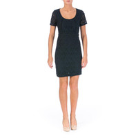 Marc by Marc Jacobs Womens Lace Short Sleeves Casual Dress