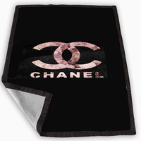 Coco Chanel Color Blanket for Kids Blanket, Fleece Blanket Cute and Awesome Blanket for your bedding, Blanket fleece **
