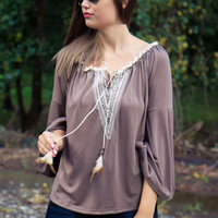 Birds of a Feather Top - Final Sale