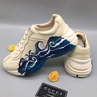 "Gucci ""Sea"" Men Women Fashion Casual Sports Shoes Size 36-45"