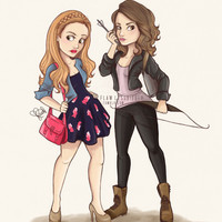 Teen Wolf Ladies Art Print by Laia™