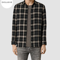 Mens Gonzo Shirt (Black Check) | ALLSAINTS.com