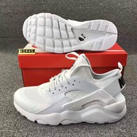 Tagre™ Nike Wmns Air Huarache Run Ultra Sports shoes white