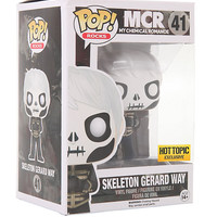 Funko My Chemical Romance Pop! Rocks Skeleton Gerard Way Vinyl Figure Hot Topic Exclusive