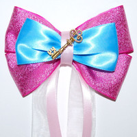 Sleeping Beauty Castle Hair Bow