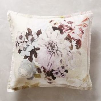 Meadow Dusk Euro Sham in Tan Euro Sham Size Bedding by Anthropologie