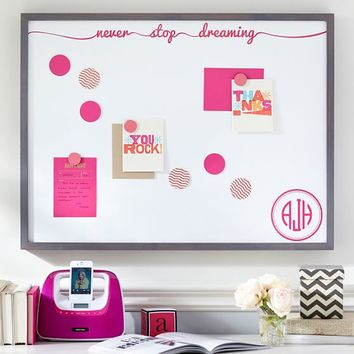 Magnetic Wall Art, Never Stop Dreaming