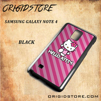 hello kitty For Samsung Galaxy Note 4 Case - Gift Present Multiple Choice