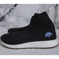 Adidas Alexander Wang personalized tide brand trendy sneakers F black