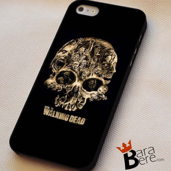 The Walking Dead Skull iPhone 4s iphone 5 from barabere99.com