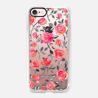 Wild Roses - watercolor floral on transparent iPhone 7 Case by Micklyn Le Feuvre | Casetify