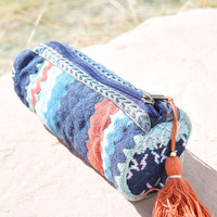 Mohave Embroidered Tassel Bag