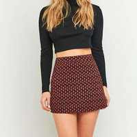 Urban Outfitters Black Printed Pocket Pelmet Skirt - Urban Outfitters