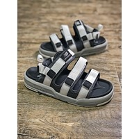 New Balance Silver Slippers Sandals