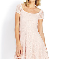 Sweetheart Lace Off-The-Shoulder Dress