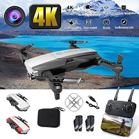 CH207 16MP 4K HD camera WiFi FPV RC Foldable Drone