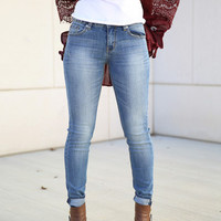 the sydney mid rise skinny jeans