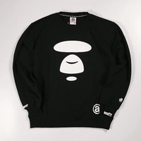 AAPE Woman Men Fashion Top Sweater Pullover-1