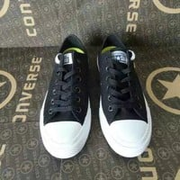 """Converse Chuck Taylor All Star II"" Unisex Sport Casual Low Help Shoes Canvas Shoes Couple Classic Cloth Shoes"