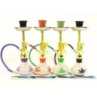 Mini Take Along Glass Hookah Aliexpress Chinese Smoking Pipes Water Chicha