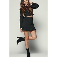 Crazy In Love Two Piece Set (Black)