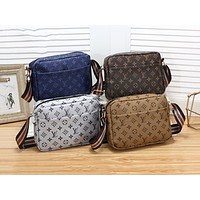LV Fashion Multicolor Printed Single Shoulder Bag N-MYJSY-BB