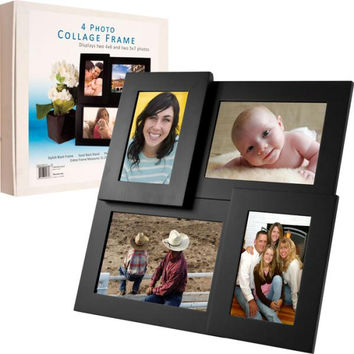Pandigital 4 Standard Photo Collage Picture Frame