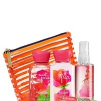 Scents & Stripes Gift Set Sweet Pea