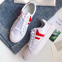 Celine Women Fashion Simple Casual Canvas shoes