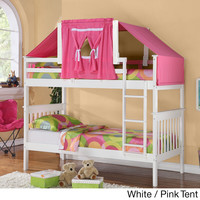 Mission Twin-size Bunk Bed and Tent Kit