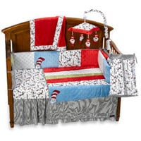 Trend Lab?- Dr. Seuss Cat in the Hat 4-Piece Crib Bedding Set and Accessories-buybuy BABY