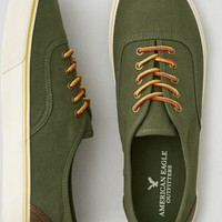 AEO Men's Lace Up Sneaker (Olive)
